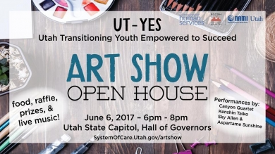 Annual Utah Transition Youth Empowered to Succeed (UT-YES) Art Show